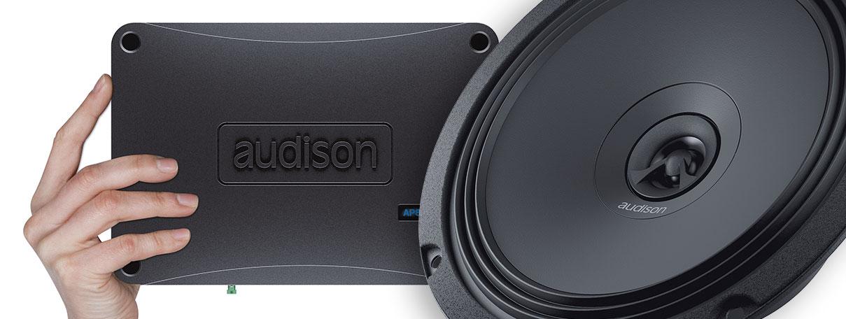 Audison Voce AV 5.1k HD Endstufe mit 5 Kan/älen